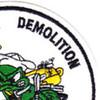 UDT 22 Underwater Demolition Team Unit Twenty Two Patch | Upper Right Quadrant