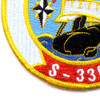 Turkish Navy S-336 TCG Murat Reis Patch | Lower Left Quadrant