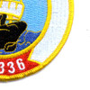 Turkish Navy S-336 TCG Murat Reis Patch | Lower Right Quadrant