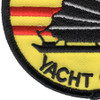Tonkin Gulf Yacht Club Small 3 Inch Patch | Lower Left Quadrant