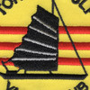 Tonkin Gulf Yacht Club Small 3 Inch Patch | Center Detail