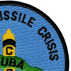 The United States Cuban Missile Crisis 1962 Patch | Upper Right Quadrant