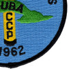 The United States Cuban Missile Crisis 1962 Patch | Lower Right Quadrant