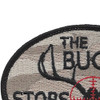 The Buck Stops Here Patch | Upper Left Quadrant