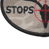 The Buck Stops Here Patch | Lower Left Quadrant