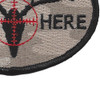 The Buck Stops Here Patch | Lower Right Quadrant