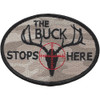 The Buck Stops Here Patch