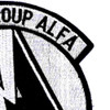 Task Force Group Alfa Patch   Upper Right Quadrant
