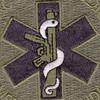 Tactical Medic Patch Mean Medicine Baghdad 2005 ACU | Center Detail