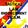 Tactical Law Enforcement Team Patch Semper Paratus   Center Detail