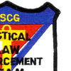 Tactical Law Enforcement Team Patch Semper Paratus   Upper Right Quadrant