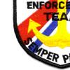 Tactical Law Enforcement Team Patch Semper Paratus   Lower Left Quadrant