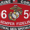 Tactical Data Specialist MOS Patch 0656   Center Detail