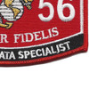 Tactical Data Specialist MOS Patch 0656   Lower Right Quadrant