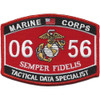 Tactical Data Specialist MOS Patch 0656