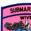 Submarine Wives Also Serve With Pride Pink Patch   Upper Left Quadrant