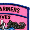 Submarine Wives Also Serve With Pride Pink Patch   Upper Right Quadrant