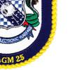 USNS Howard O. Lorenzen  T-AGM 25 Missile Range Instrumentation Ship Patch | Lower Right Quadrant