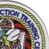 U.S. NCTC Port Hueneme Patch | Upper Right Quadrant