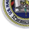 U.S. NCTC Port Hueneme Patch | Lower Left Quadrant