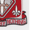 51st Engineer Battalion Patch | Lower Right Quadrant