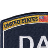 US Navy Ratings DAV Patch | Upper Left Quadrant