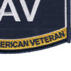 US Navy Ratings DAV Patch | Lower Right Quadrant