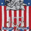US Naval Construction Battalion 107 patch   Center Detail