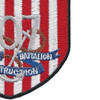 US Naval Construction Battalion 107 patch   Lower Right Quadrant
