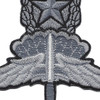 U.S. Military Master HALO Badge Patch | Center Detail