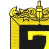 Submarine Squadron 7 Patch | Upper Left Quadrant