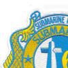 Submarine Squadron 6 Patch | Upper Left Quadrant