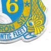 Submarine Squadron 6 Patch | Lower Right Quadrant