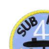 Submarine Squadron 4 Patch | Upper Left Quadrant