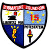 Submarine Squadron 15 Patch