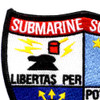 Submarine Squadron 15 Patch | Upper Left Quadrant