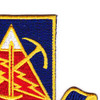 STB 4th Brigade, 10th Mount. Div. Patch   Upper Right Quadrant