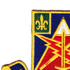 STB 4th Brigade, 10th Mount. Div. Patch   Upper Left Quadrant