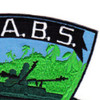 STABRON 20 Seal Team Assault Boat Squadron Twenty S.T.A.B.S. Patch | Upper Right Quadrant
