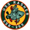 SSR-269 USS Rasher Patch - Version B