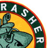 SSR-269 USS Rasher Patch - Version B   Upper Right Quadrant