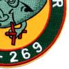 SSR-269 USS Rasher Patch - Version B   Lower Right Quadrant