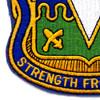 511th Airborne Infantry Regiment Patch | Lower Left Quadrant