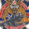 SSN-783 USS Minnesota Patch | Center Detail
