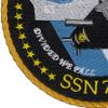 SSN-780 USS Missouri Patch   Lower Left Quadrant