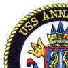 SSN-760 USS Annapolis Patch   Upper Left Quadrant