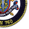 SSN-760 USS Annapolis Patch   Lower Right Quadrant