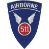 511th-A Airborne Infantry Regiment Patch