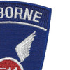 511th-A Airborne Infantry Regiment Patch | Upper Right Quadrant