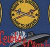 SSBN-644 USS Lewis & Clark Patch   Center Detail